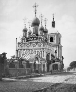 Храм в 1881 году