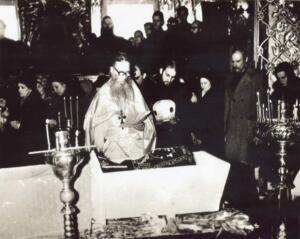 Отпевание тайной монахини Иулиании