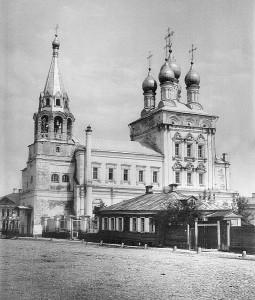 Никольский храм в 1881