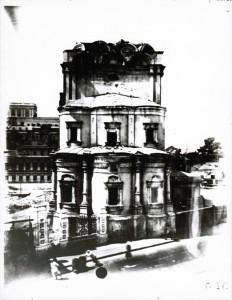 Никольский храм после сноса колоколов