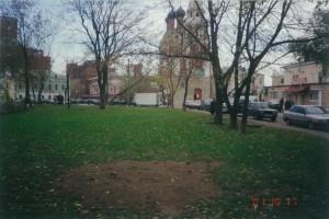 Вид на Никольский храм 2001